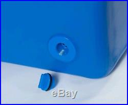 125QT Icey-Tek Cooler Ocean Blue L43.5W19.5H19.5 (FREE SHIP)
