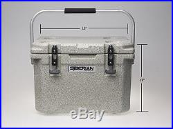 22 Qt Siberian Cooler Granite Color- Roto Molded Cooler / Ice Chest- SC-22-G