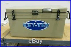 70Qt Icey-Tek Cooler TanFREE SHIP L34W17H18