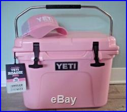 Authentic Yeti Roadie Cooler 20 Limited Edition Pink Sold Out New