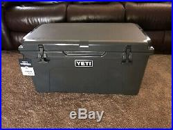 BRAND NEW Charcoal Yeti Tundra 65 Cooler Limited Edition