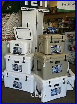 BRAND NEW YETI 35QT Cooler FAST Shipping COLOR Tan