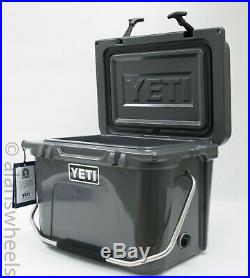 BRAND NEW YETI Roadie 20 Cooler Charcoal Free Shipping! YR20C Ice Chest