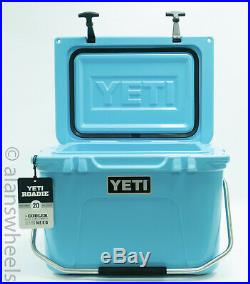 BRAND NEW YETI Roadie 20 Cooler Reef Blue Free Shipping! YR20RB Ice Chest
