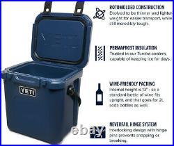 BRAND NEW YETI Roadie 24 Insulated Chest Cooler, Navy Blue