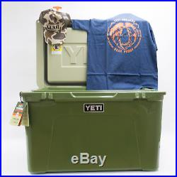 BRAND NEW YETI Tundra 105 Quart Cooler High Country YT105HC Bonus Hat & T-Shirt