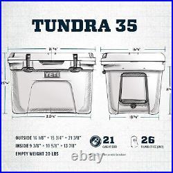 BRAND NEW YETI Tundra 35 Cooler Desert Tan