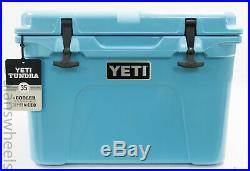 BRAND NEW YETI Tundra 35 Cooler Reef Blue Free Shipping. YT35RB