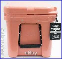 BRAND NEW YETI Tundra 35 Quart Cooler Coral Limited Edition YT35C