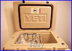 BRAND NEW YETI Tundra 35 Quart Cooler Desert Tan Free Shipping! YT35T