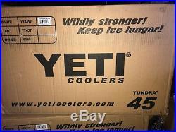 BRAND NEW YETI Tundra 45 Cooler White. FREE SHIPPING