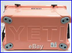 BRAND NEW YETI Tundra 45 Quart Cooler CORAL YT45C Limited Edition Free Shipping