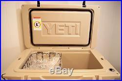 BRAND NEW YETI Tundra 45 Quart Cooler Desert Tan Free Shipping! YT45T