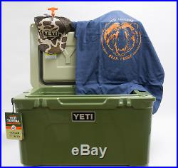 BRAND NEW YETI Tundra 45 Quart Cooler High Country YT45HC Bonus Hat & T-Shirt