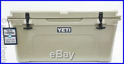 BRAND NEW YETI Tundra 65 Cooler Tan Free Shipping! YT65T Ice Chest