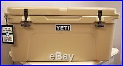 BRAND NEW YETI Tundra 65 Quart Cooler Desert Tan Free Shipping