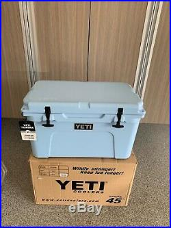 BRAND NEW Yeti 1030286-AAC Tundra 45 Cooler Discontinued Ice Blue
