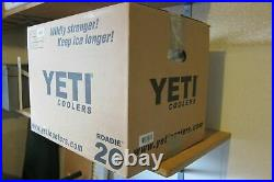 BRAND NEW Yeti Cooler Roadie 20 White Discontinued Rare