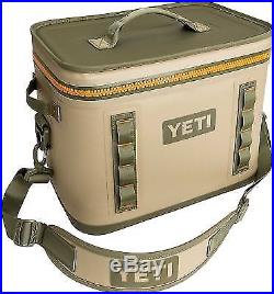 Brand New Complete YETI Hopper Flip 18 Portable Cooler Field Tan FREE SHIPPING