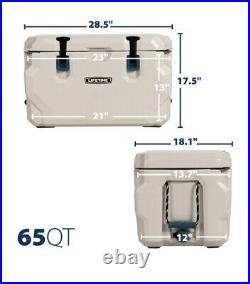 Brand New Lifetime 65 Quart High Performance Cooler Yeti Tough 8 Day Ice