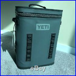 Brand New YETI BackFlip 24 Charcoal Leakproof Backpack Soft Box Cooler Ice