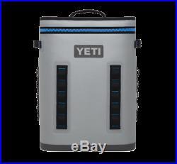 Brand New YETI Hopper Backflip 24 Leakproof Soft Cooler Fog Gray/Tahoe Blue