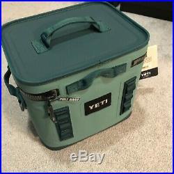Brand New YETI Hopper Flip 12 Leakproof Soft Box Cooler River Green Ice Square