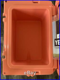 Brand New YETI Roadie Cooler CORAL LIMITED EDITION