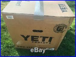 Brand New Yeti Cooler Tundra 105 Desert Tan