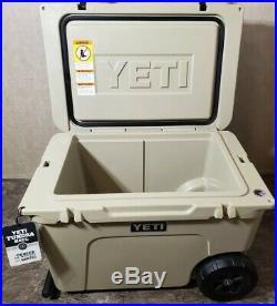Brand New Yeti Cooler Yeti Tundra Haul Tan