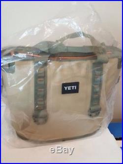 Brand New Yeti Hopper 30 Soft Side Portable Cooler Field Tan/blaze Orange