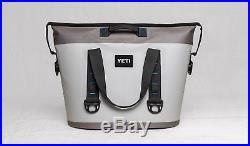 Brand New Yeti Hopper 30 Soft Side Portable Cooler Fog Gray / Tahoe Blue