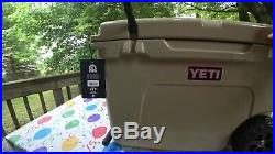 Brand New Yeti Tundra Haul Hard Cooler Tan Supporting Wounded Warriors Fast Ship