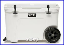 Brand new White Yeti Tundra Haul Cooler. Handle and wheels for easy transport