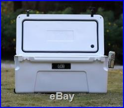 Cascade Coolers 75l White Roto Mold Ice Chest Yeti Quality Cooler Free 48 Us S/h