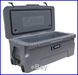 Cascade Coolers Charcoal 75l 75 Liter 80 Qt Rotomold Yeti Quality Ice Cooler