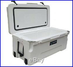 Cascade Coolers White 75l 75 Liter 80 Qt Rotomold Yeti Quality Ice Cooler