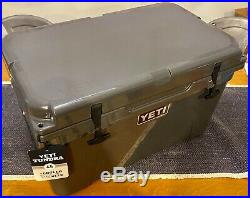 Charcoal YETI Tundra 45 rotomold Cooler DISCONTINUED LIMITED EDITION