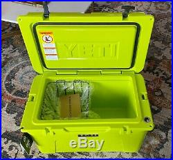 Chartreuse YETI Tundra 45 rotomold Cooler DISCONTINUED LIMITED EDITION