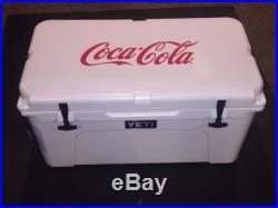 Coca-Cola YETI Tundra 65 Ice Cooler