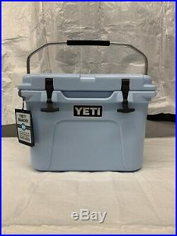 DISCONTINUED Yeti Cooler Roadie 20Qt Ice Blue