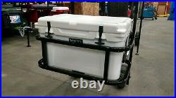 Ezgo club car yamaha Yeti Tundra 45 golf cart hitch cooler carrier BLACK