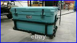 Ezgo club car yamaha Yeti Tundra 65 golf cart hitch cooler carrier BLACK