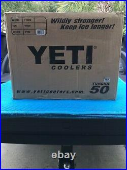 Factory Sealed Brand New Limited Edition Pink Yeti 50 Tundra Cooler