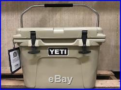 Genuine-YETI Roadie 20 quart Cooler Ice Chest TAN-NEW