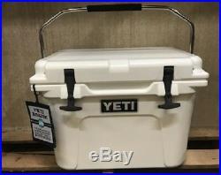 Genuine-Yeti 20 quart Roadie Cooler Ice Chest WHITE-NEW