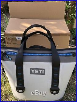 Genuine Yeti Hopper 2 20 Quart Gray Cooler Bag New with Tags, Box & Docs