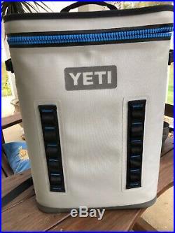 Hopper BackFlip 24 Cooler Backpack Fog Gray Used Only For Summer 2019