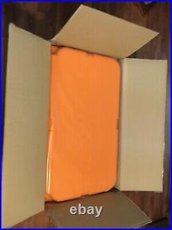 King Crab Orange Yeti Tundra 45 Limited Edition Hard Cooler