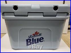 Labatt Yeti Roadie 20 blue cooler